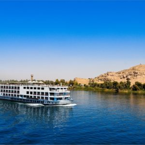 8705827 - a cruise on the nile is one of any trip to egypt.